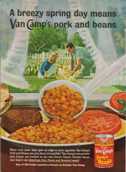 Stokely Van Camp's Pork and Beans (1963)