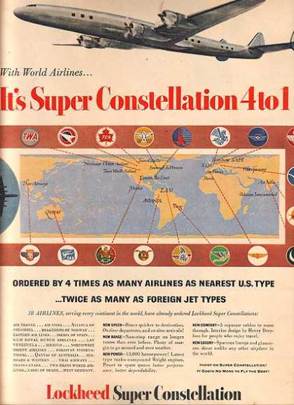 Lockheed&#8217;s Super Constellation (1953)