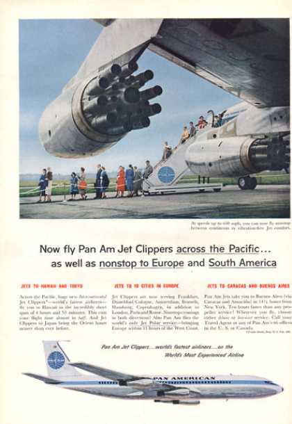 Pan American Jet Clippers Jet Plane (1959)