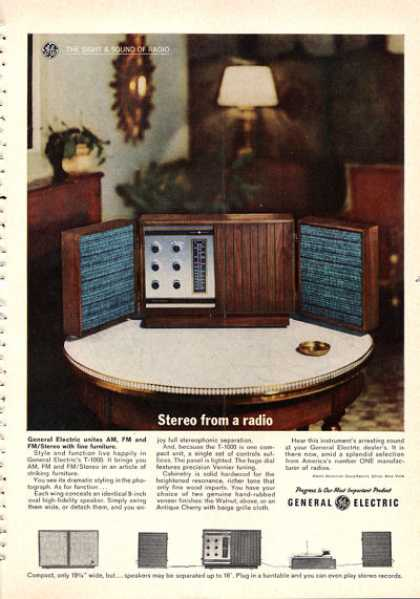 General Electric Stereo Radio (1962)