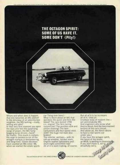 "Mgb Photo ""The Octagon Spirit"" Car (1965)"