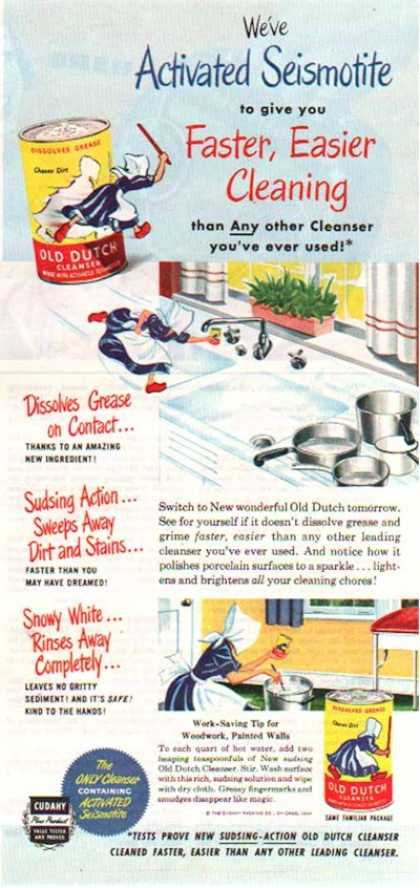 Old Dutch Cleanser – Cudahy Packing Company (1949)
