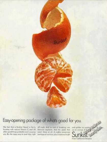 Sunkist Oranges Clever (1967)