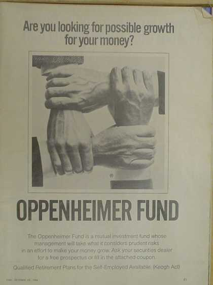 Oppenheimer Fund Investment Co. (1968)
