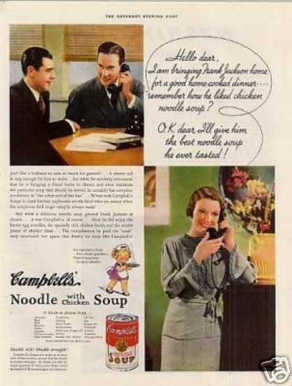 Campbell's Chicken Noodle Soup (1935)