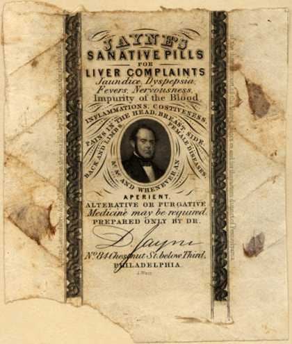 D. Jayne's Liver Pills – Jayne's Sanative Pills for Liver Complaints