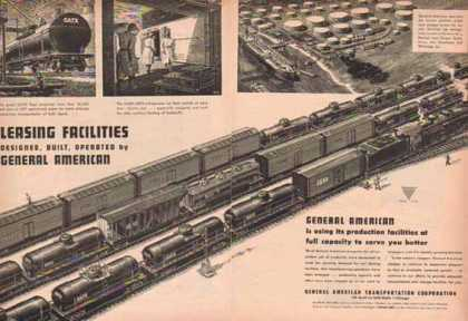 GATX Rail Tank Cars – General American Transport Corp. (1948)