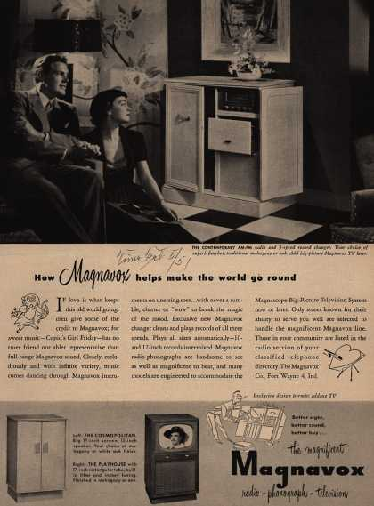 Magnavox Company's Radio-Television – How Magnavox helps make the world go round (1951)