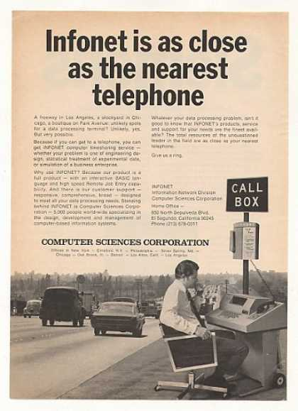 Computer Sciences Corp Infonet Timesharing (1970)