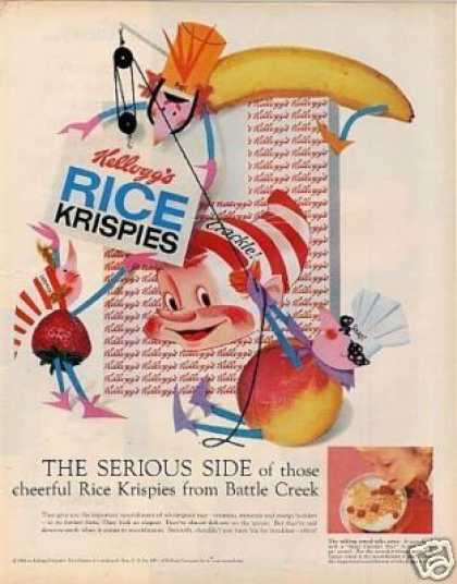 Kellogg's Rice Krispies Cereal (1958)