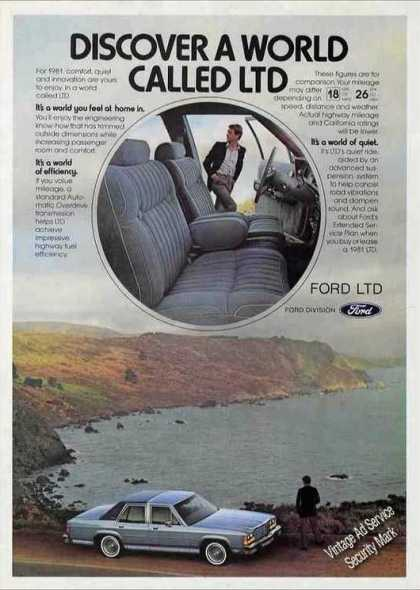 "Ford ""Discover a World Called Ltd"" (1981)"