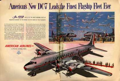 American Airlines – American's New DC-7 Leads the Finest Flagship Fleet Ever (1954)