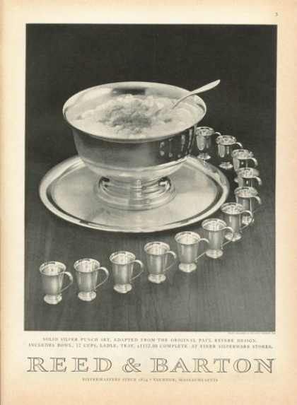 Reed Barton Solid Silver Punch Set – Photo- (1958)