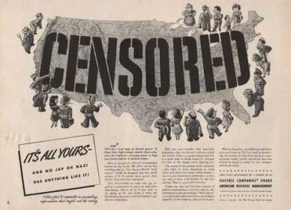 Censored Electric Companies (1942)