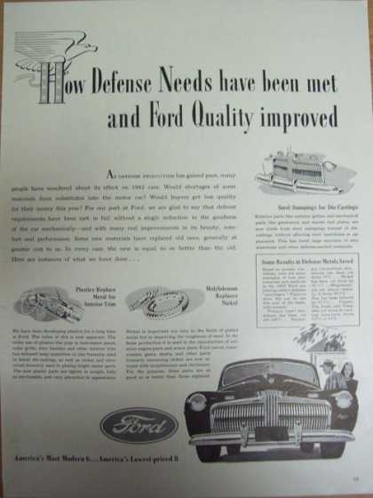 Ford Quality Improved (1941)
