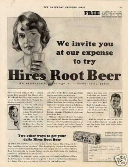 Hires Root Beer (1931)