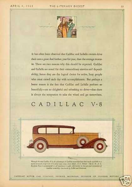 Cadillac V-8 Car Color (1931)