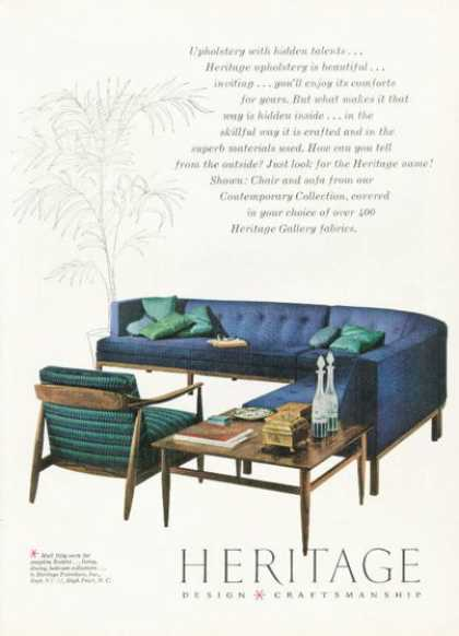 Heritage Design Furniture (1958)