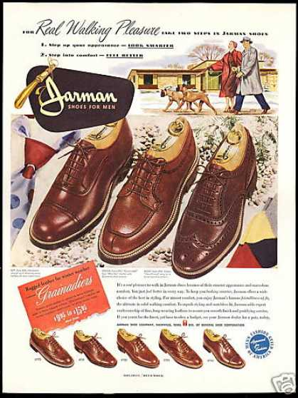 Boxer Dog Art Jarman Mens Shoes (1950)