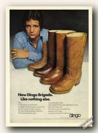 Ed Marinaro Photo Dingo Boots (1975)