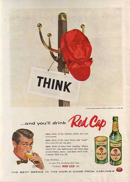 Carling's Red Cap Ales (1956)