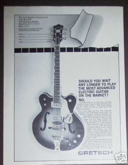 Gretsch Viking Electric Guitar (1967)