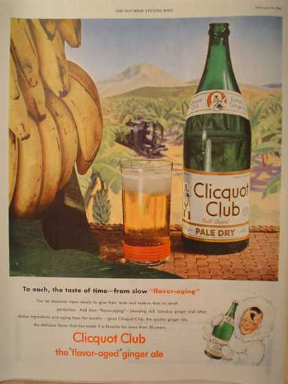 Clicquot Club Pale Dry Ginger Ale (1946)