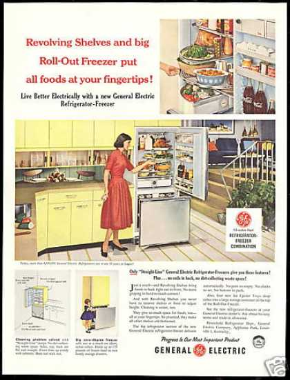 GE General Electric Refrigerator Freezer (1958)