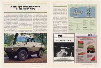 '89 Iveco Fiat OTO Melara Puma Armoured Vehicle Article (1989)