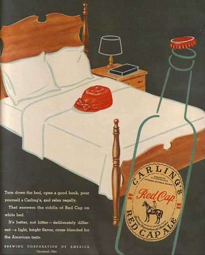 Carling's Red Cap Ale (1947)