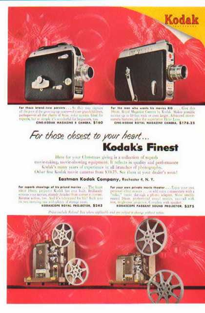 Kodak Camera – Cine-Magazine 8 & Royal Magazine (1953)