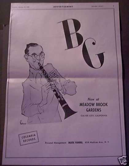 Benny Goodman Meadow Brook Gardens Music (1946)