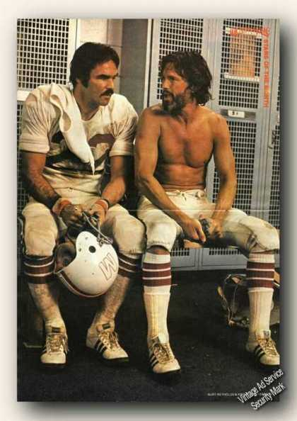 Burt Reynolds/kris Kristofferson Magazine Photo (1978)