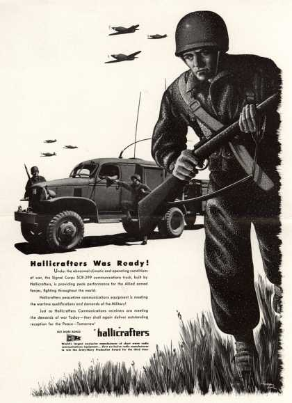 Hallicrafters Communication's Communications – Hallicrafters Was Ready (1943)