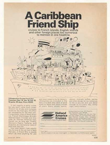 Holland America Statendam Cruise Friend Ship (1970)