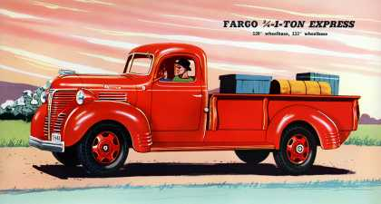 Fargo express pickup body (1941)