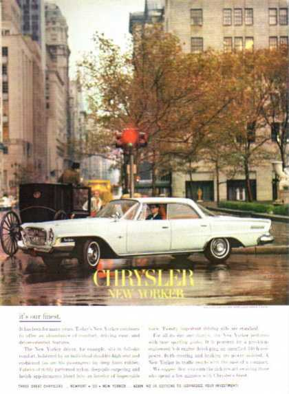 Chrysler New Yorker City Horse Carriage (1962)
