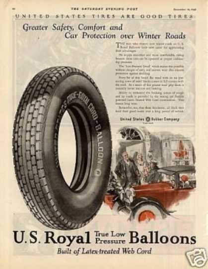 U.s. Royal Tire Color (1925)