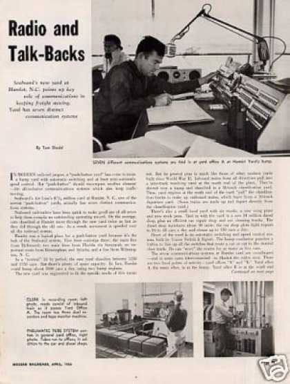 """Radio and Talk-backs"" Article/sal-ham (1956)"
