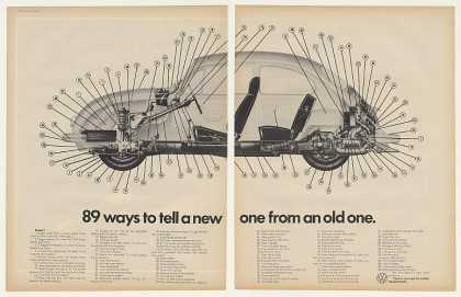 VW Volkswagen Beetle Bug 89 Ways New (1971)