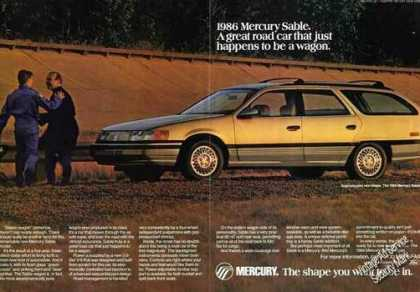 "Mercury Sable ""Just Happens To Be a Wagon"" (1986)"
