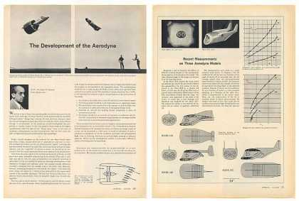 Development of Aerodyne Aircraft 5-P Photo Article (1960)