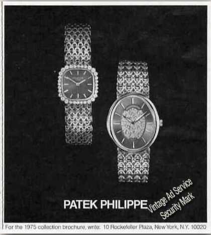 Patek Philippe Wristwatches (2) Photo (1975)