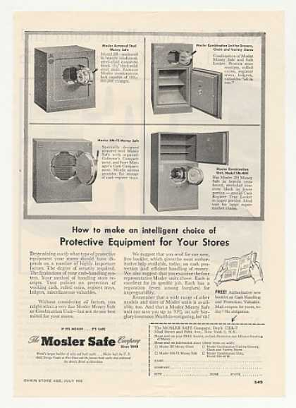 Mosler Safe Steel Money Combination Safes (1955)