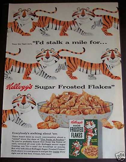Kellogg's Frosted Flakes Tony the Tiger (1954)