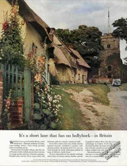 Wendens Ambo Uk Hollyhocks Cottages Nice Travel (1959)