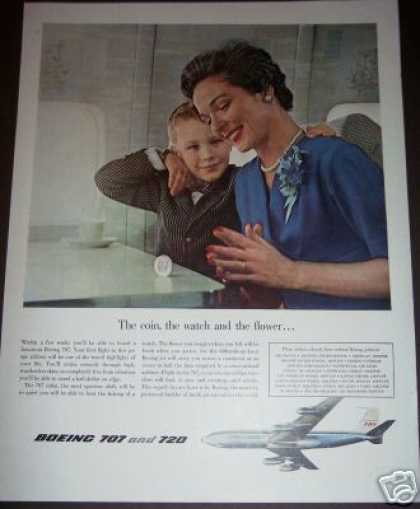 Original Boeing 707 720 Plane Airliner (1958)