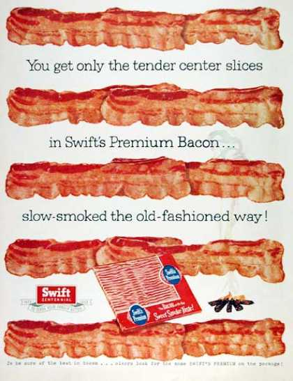 Swift Premium Bacon #1 (1955)