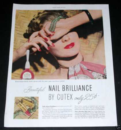 Cutex, Nail & Lips Brilliance (1949)