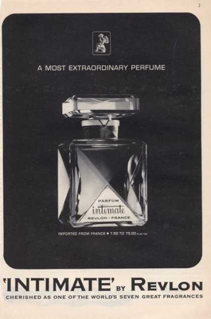 Revlon 'intimate' Bottle (1965)